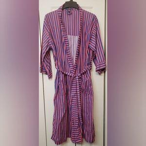 Nautica Lightweight Turkish Cotton Robe OS